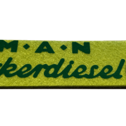 MAN Schlüsselanhänger grün